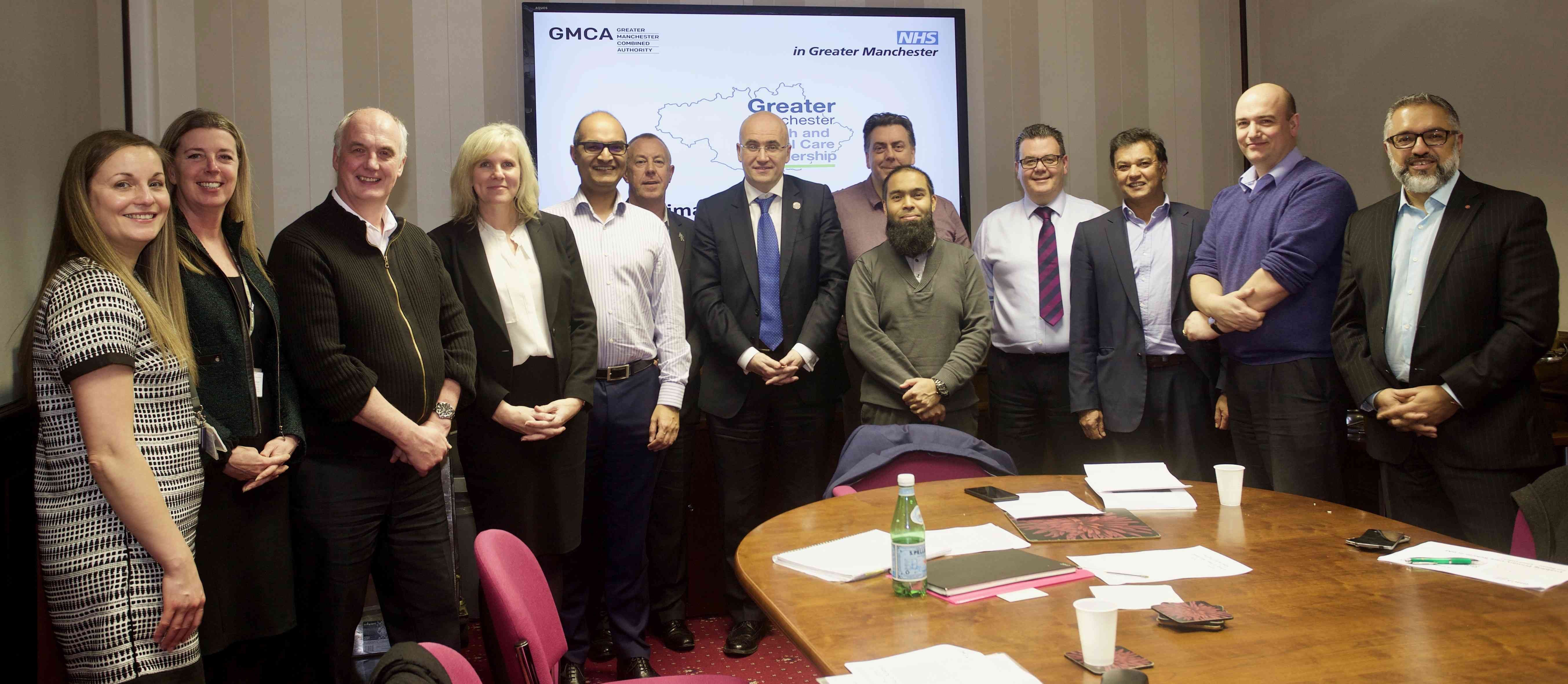 Association of Greater Manchester Local Medical Committees with Jon Rouse, Laura Browse and Sara Roscoe from the Greater Manchester Health & Social Care Partnership